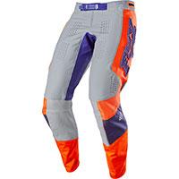 Pantaloni Mx Fox 360 Linc Grigio Arancio