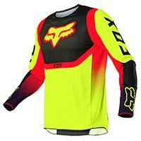 Camiseta Fox 360 Voke amarillo fluo