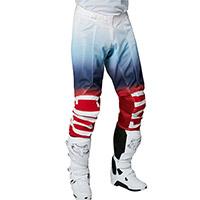 Pantaloni Fox Airline Reepz Bianco Rosso Blu