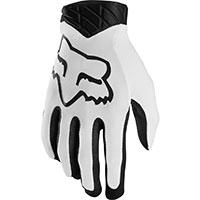Fox Airline Mx Gloves White