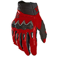Fox Bomber Gloves Flame Red