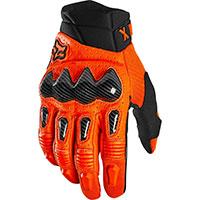 Fox Bomber Gloves Orange