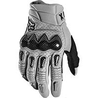 Fox Bomber Gloves Gray