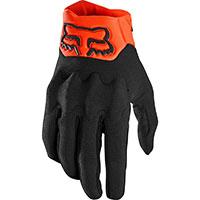 Fox Bomber Lt Gloves Black Orange