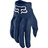 Fox Bomber Lt Gloves Blue Navy