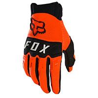 Guanti Fox Dirtpaw 2021 Arancio Fluo