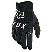 Gants Fox Dirtpaw 2021 Noir Blanc