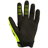 Fox Dirtpaw Youth Gloves Yellow Fluo Kid