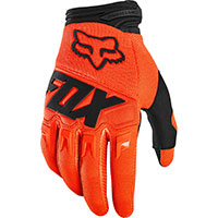 Guanti Mx Fox Dirtpaw Arancio