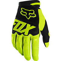 Guanti Mx Fox Dirtpaw Nero Giallo