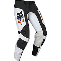 Pantaloni Fox Flexair Relm Nero Bianco