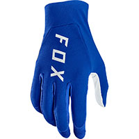 Guanti Mx Fox Flexair Blu