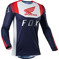 Fox Flexair Honda Mx Jersey Blue Red
