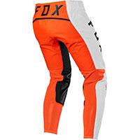 Pantalon Fox Flexair Howk Orange Blanc