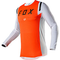 Fox Flexair Howk Mx Jersey Orange White