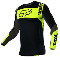 Fox Flexair Mach One Jersey Black Yellow