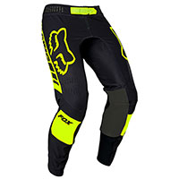 Pantaloni Fox Flexair Mach One Nero Giallo