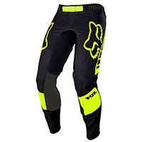 Pantalon Fox Flexair Mach One Noir Jaune
