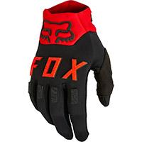 Guanti Fox Legion Water Nero Rosso