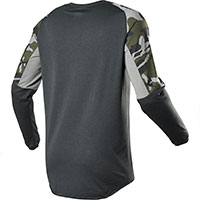 Fox Legion Drirelease Gain Mx Jersey Camo Green