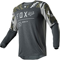 Maglia Mx Fox Legion Drirelease Gain Camo Verde