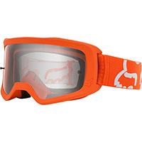 Fox Main 2 Race Goggle Fluo Orange