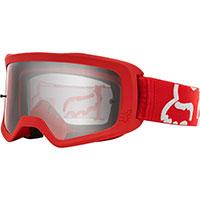 Fox Main 2 Race Goggle Red