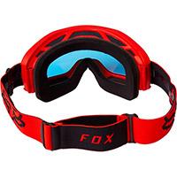 Maschera Fox Main Stray Spark Rosso Fluo - 3