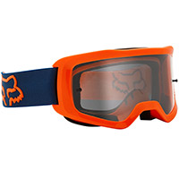 Maschera Fox Main Stray Arancio Fluo