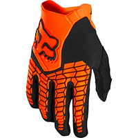 Fox Offroad Gloves Pawtector Fluo Orange