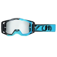 Just1 Goggle Iris Carbon Fluo Light Blue