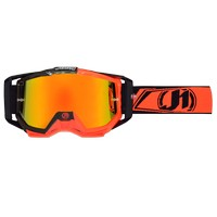 Just1 Goggle Iris Carbon Fluo Rosso