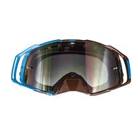 Maschera Off Road Mt Helmets Mx-evo Stripes Blu