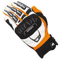 Held Offroad Backflip Gloves White Orange