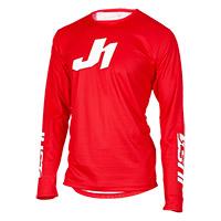 Maglia Just-1 J-essential Solid Rosso