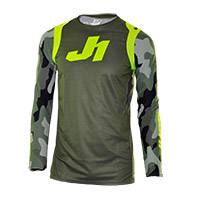 Maglia Just-1 J Flex Army Limited Edition Verde