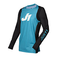 Camiseta Just-1 J Flex Aria azul negro