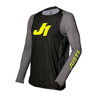 Camiseta Just-1 J Flex Aria gris amarillo