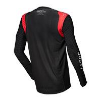 Camiseta Just-1 J Flex Aria negro rojo