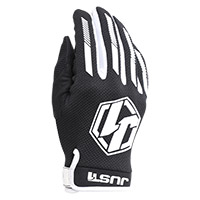 Guantes Just-1 J Force negro blanco