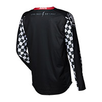 Camiseta Just-1 J Force Racer negro blanco