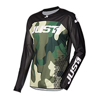Camiseta Just-1 J Force Terra camuflaje verde