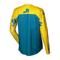 Camiseta Just-1 J Force Terra azul amarillo