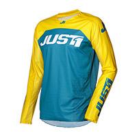 Camiseta Just-1 J Force Terra azul amarillo
