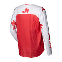 Camiseta Just-1 J Force Terra blanco rojo
