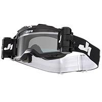 Just-1 Nerve Plus Solid Goggle Black White