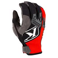Klim Impact Gloves High Risk Red