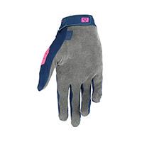 Guantes Leatt 1.5 Grip R azul rosa