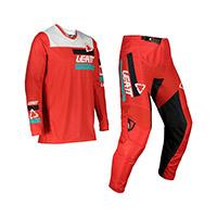 Completo Leatt 3.5 Ride Kit 2022 Rosso