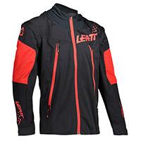 Giacca Leatt 4.5 Lite Nero Rosso